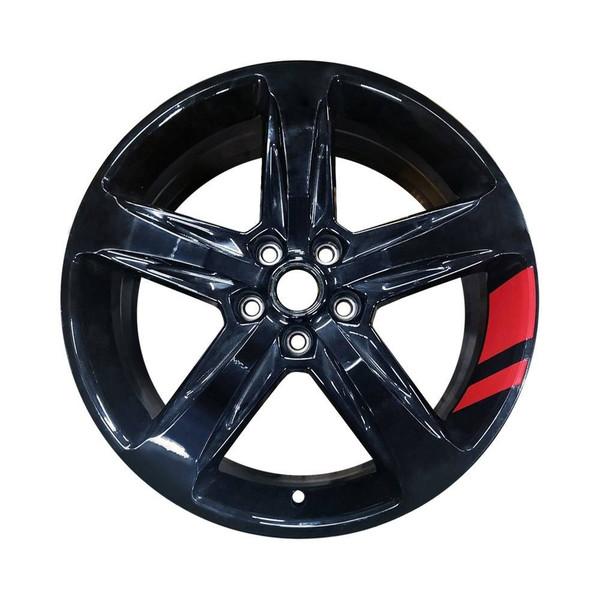 17 Chevrolet Equinox replica wheels 2018-2020 Black rim 5831