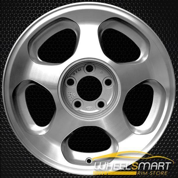 "17"" Ford Mustang OEM wheel 1994-1997 Silver alloy stock rim F4ZZ1007D, F4ZC1007HB"