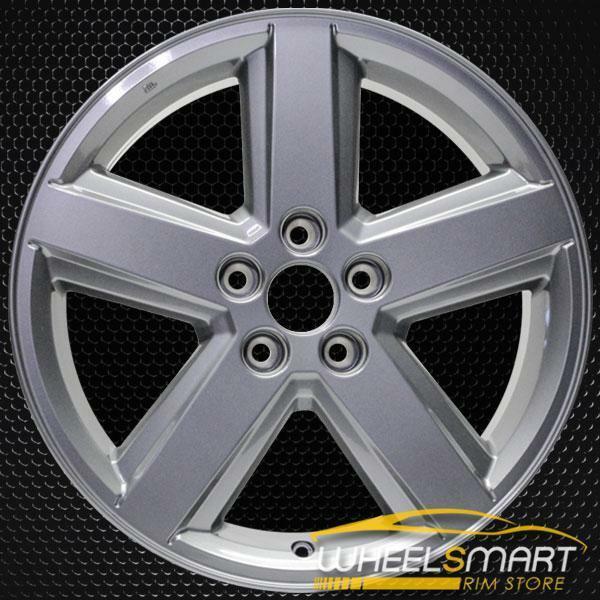 "18"" Dodge Avenger OEM wheel 2008-2010 Silver alloy stock rim 1AN34TRMAB, 1AN34TRMAC, 1AN34TRMAA"