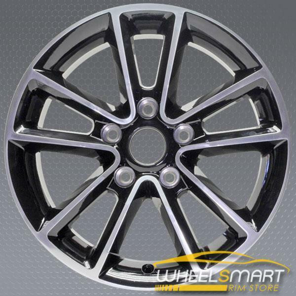 "17"" Dodge Caravan OEM wheel 2011-2013 Polished alloy stock rim 1SP68DD5AA"