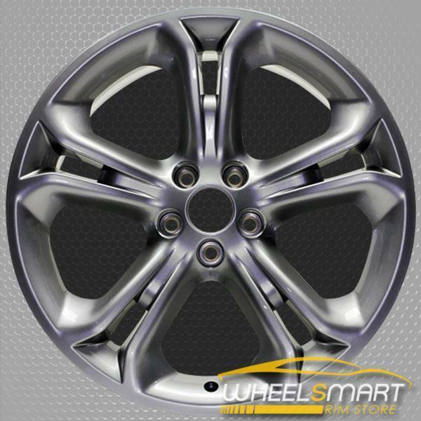 "20"" Ford Explorer OEM wheel 2011-2015 Hypersilver alloy stock rim BB5Z1007B, DB5Z1007B, BB531007DA, DB531007DA"