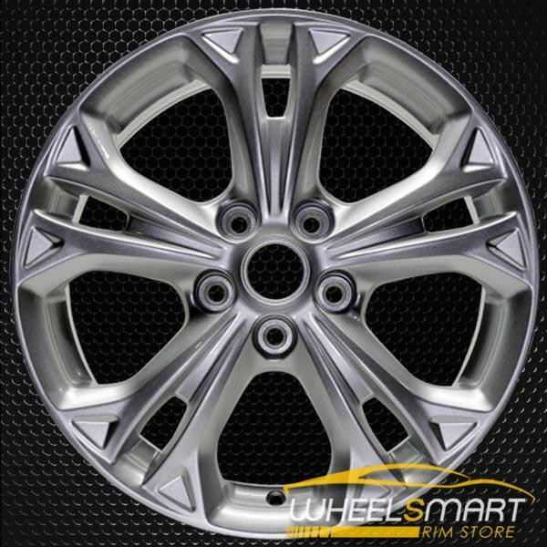 """17"""" Ford Fusion OEM wheel 2012 Silver alloy stock rim BE5Z1007B, BE5C1007AA"""