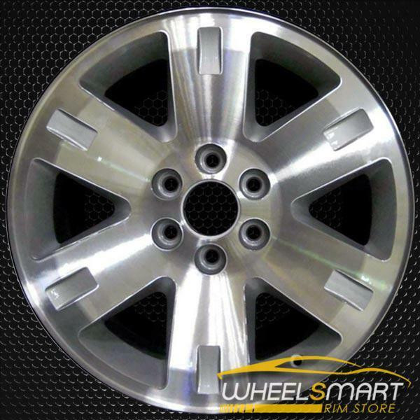 "20"" GMC Sierra 1500 OEM wheel 2007-2010 Machined alloy stock rim 88967404, 88967409, 88967399, 9596004, 9596388"