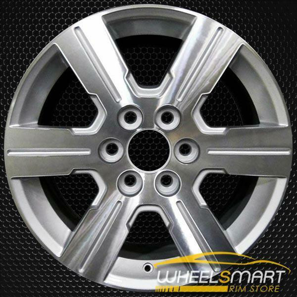 "18"" Chevy Traverse OEM wheel 2009-2012 Machined alloy stock rim 9597516"