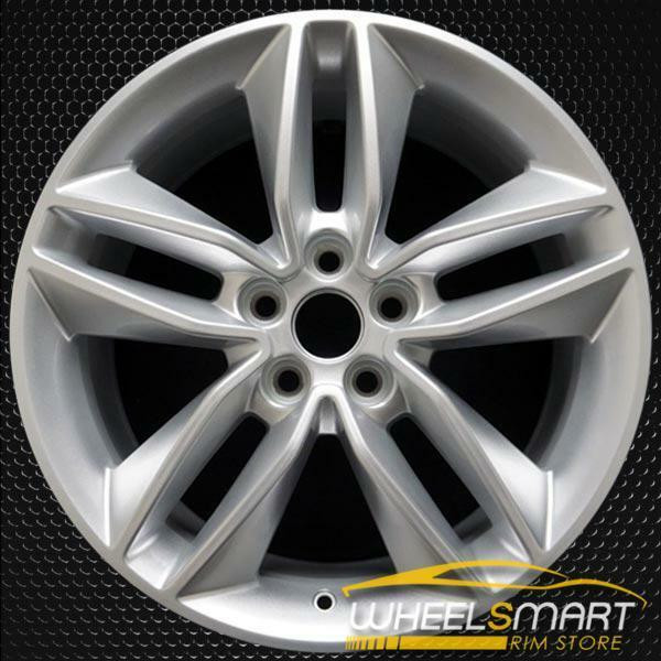 """18"""" Ford Edge OEM wheel 2015-2018 Silver alloy stock rim FT4Z1007A, FT4C1007A1A, FT4CA1"""