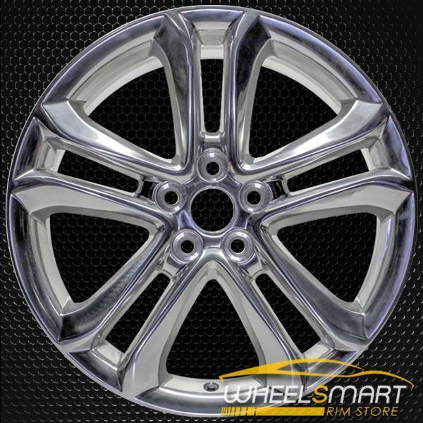 "18"" Ford Edge OEM wheel 2015-2018 Polished alloy stock rim FT4Z1007E, FT4C1007D1A, FT4CD1A"