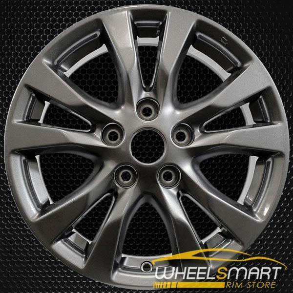 "16"" Nissan Altima OEM wheel 2014-2016 Charcoal alloy stock rim 403003TA1A, 403009HP9A"