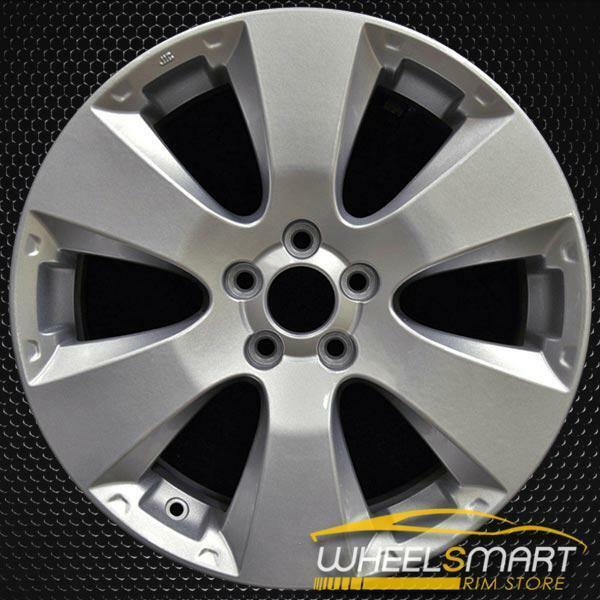 "17"" Subaru Legacy OEM wheel 2010-2012 Silver alloy stock rim 8111AJ12A, 28111AJ02A, 28111AJ03A"