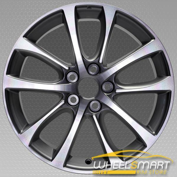 "18"" Toyota Avalon OEM wheel 2013-2015 Machined alloy stock rim 4261107080, 4261107090"