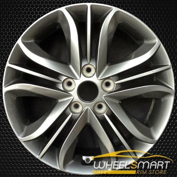 "17"" Hyundai Tucson OEM wheel 2014-2015 Charcoal alloy stock rim 529102S610"