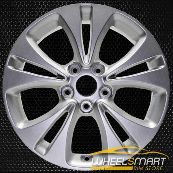 "17"" Kia Soul OEM wheel 2014-2016 Silver alloy stock rim 52910B2200"