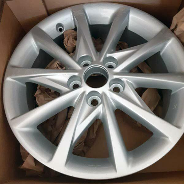 "17"" Toyota Prius oem wheel 2012-2018 Used Silver alloy stock rim 69601"