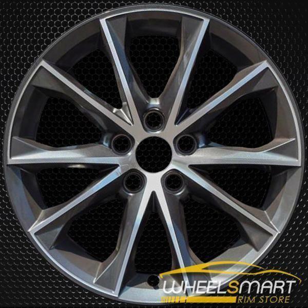 "18"" Toyota Camry OEM wheel 2015-2017 Machined alloy stock rim ALY75172U30"