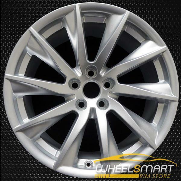 "18"" Jaguar F Type OEM wheel 2014-2020 Silver alloy stock rim T2R1858, EX531007BA"