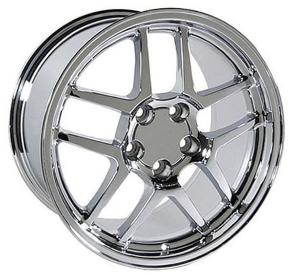 """18"""" Pontiac Firebird  replica wheel 1993-2002 Chrome rims 4750687"""