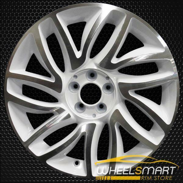 "17"" Fiat 500 OEM wheel 2014-2019 White alloy stock rim 5NF01MX5AA, 5NF01MX5AA"