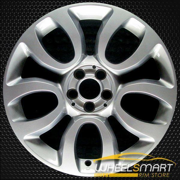 """17"""" Fiat 500 OEM wheel 2014-2019 Silver alloy stock rim 5NF00MD9AA"""
