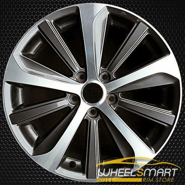"18"" Subaru Legacy OEM wheel 2015-2019 Machined alloy stock rim 28111AL01A"