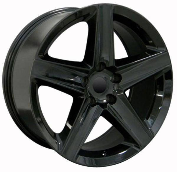 "20"" Dodge Durango replica wheel 2011-2018 Black rims 8537974"