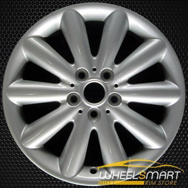 "17"" Mini Cooper HT oem wheel 2014-2018 Silver alloy stock rim 86082"