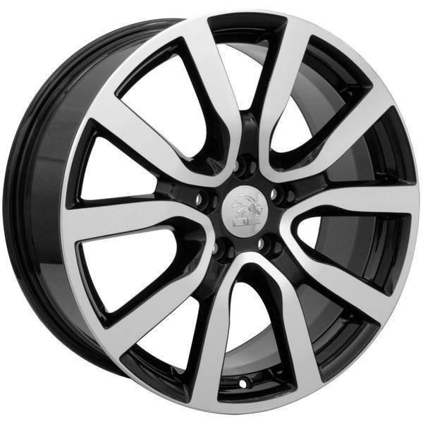 "18"" Volkswagen VW GTI replica wheel 2006-2018 Black Machined rims 9490040"