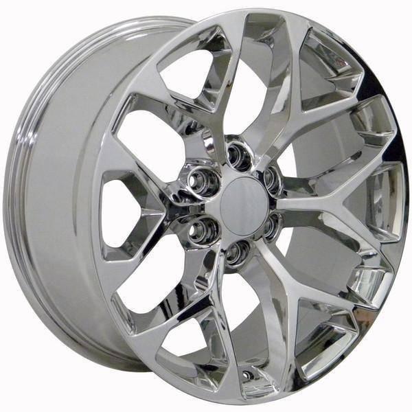 "22"" Chevy C2500 replica wheel 1988-2000 Chrome rims 9506480"