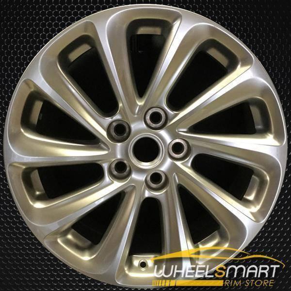 "18"" Buick Lacrosse oem wheel 2014-2016 Hypersilver alloy stock rim 4114"