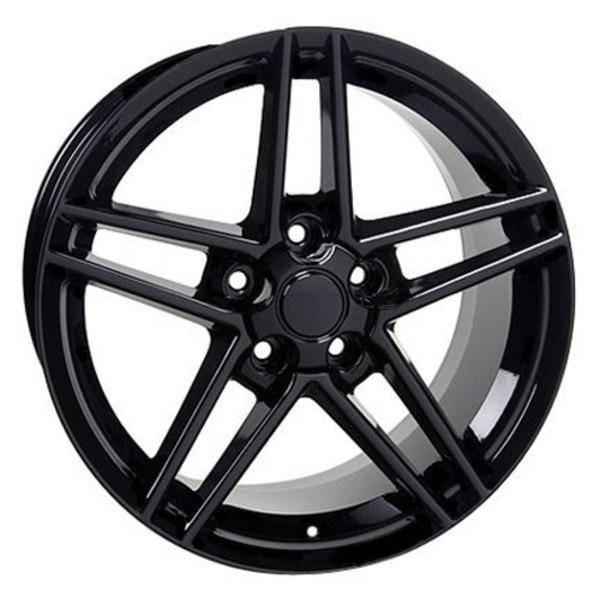 """17"""" Pontiac Firebird replica wheel 1993-2002 Black rims 5910223"""