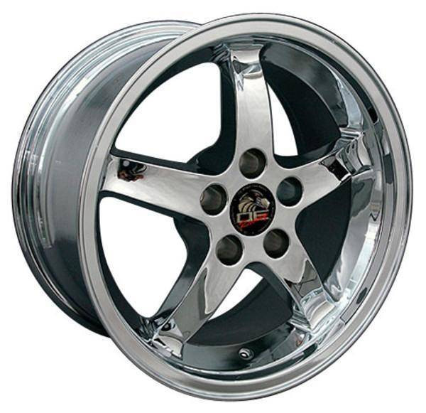 "17"" Ford Mustang replica wheel 1994-2004 Chrome rims 8181900"