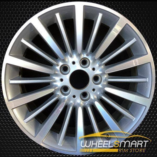 "18"" BMW 3 Series oem wheel 2012-2016 Machined alloy stock rim 71544"