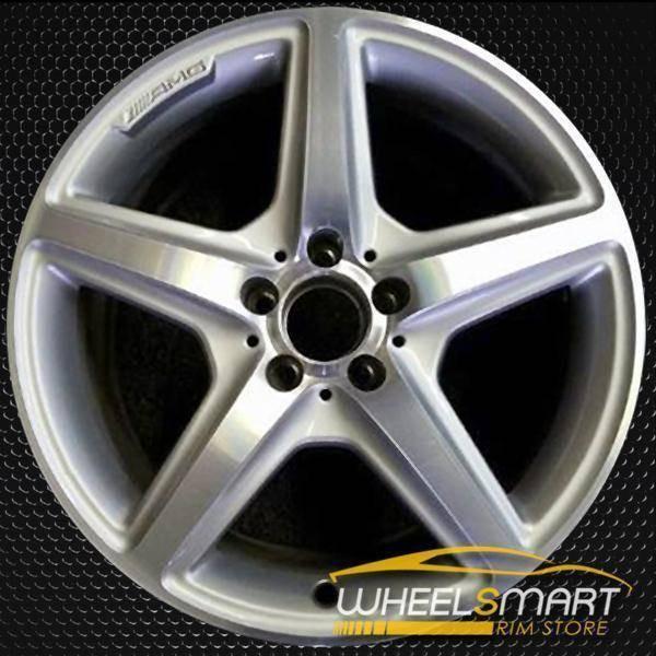 "18"" Mercedes CLS oem wheel 2012-2018 Rear Silver stock rim 85231"