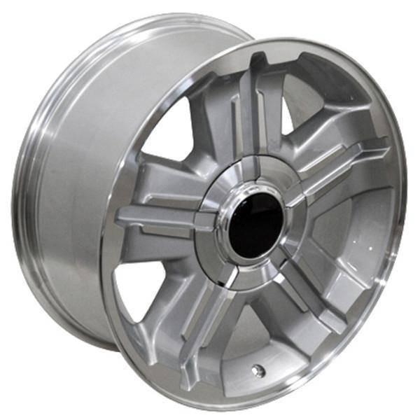 """18"""" Chevy C2500 replica wheel 1988-2000 Silver rims 9451341"""