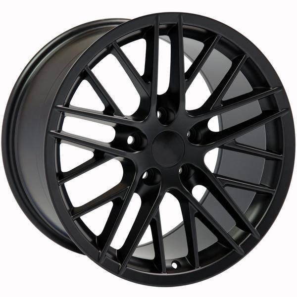 "17"" Pontiac Firebird replica wheel 1993-2002 Satin Black rims 9498435"