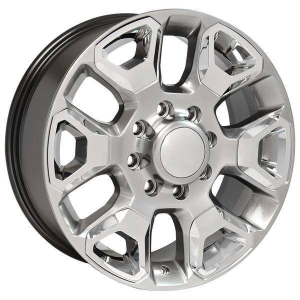 "20"" Dodge RAM 1500 Mega Cab replica wheel 2006-2008 Hypersilver Chrome Inserts rims 9507475"