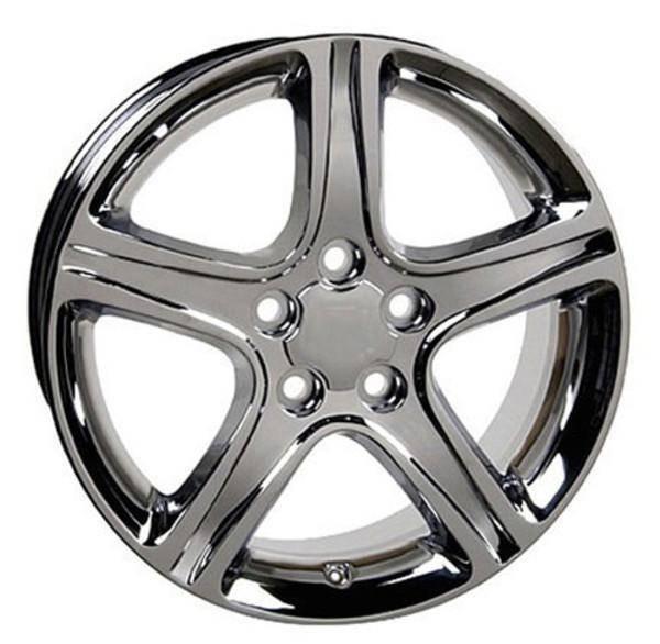 "17"" Toyota Sienna replica wheel 1998-2018 Chrome rims 4750906"