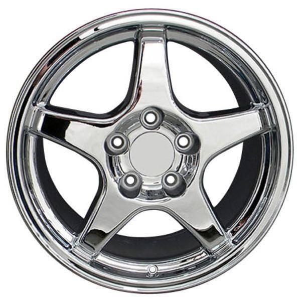 """17"""" Pontiac Firebird replica wheel 1993-2002 Chrome rims 4750770"""