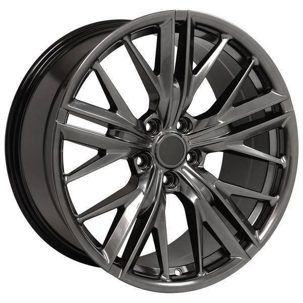 "20"" Chevy Camaro  replica wheel 2010-2018 Hyper Black rims 9506894"