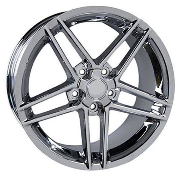 "19"" Chevy Corvette  replica wheel 2005-2013 Chrome rims 5910243"