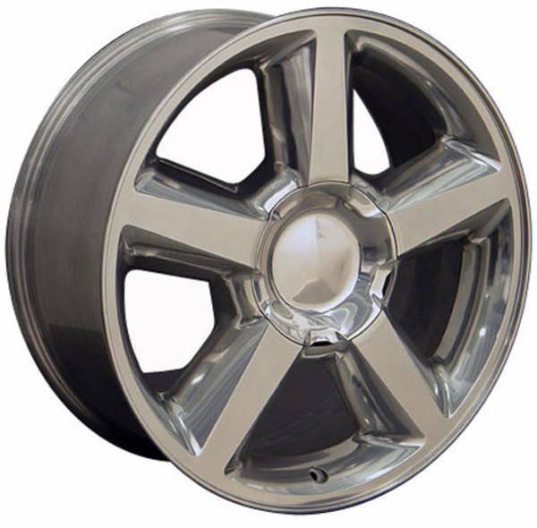 """20"""" Chevy C2500 replica wheel 1988-2000 Polished rims 7154607"""