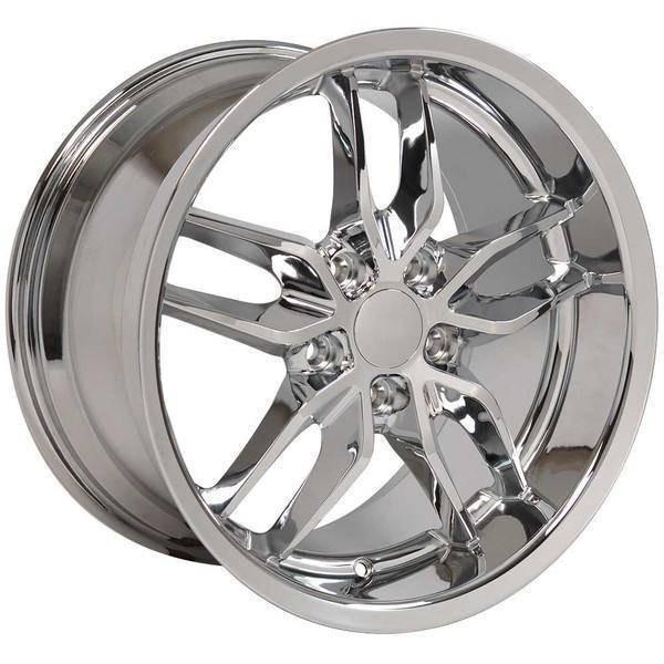"17"" Chevy Camaro replica wheel 1993-2002 Chrome rims 9506927"