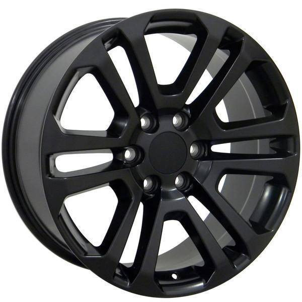 "20"" Chevy C2500 replica wheel 1988-2000 Matte Black rims 9489812"