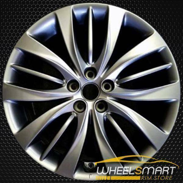 "19"" Hyundai Genesis oem wheel 2015-2018 Front Hypersilver stock rim 70872"