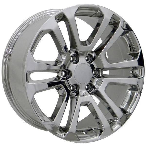 "22"" Cadillac Escalade replica wheel 1999-2018 Chrome rims 9506482"