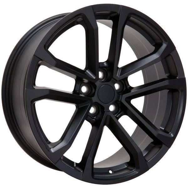 "20"" Chevy Camaro replica wheel 2010-2018 Matte Black rims 9491663"