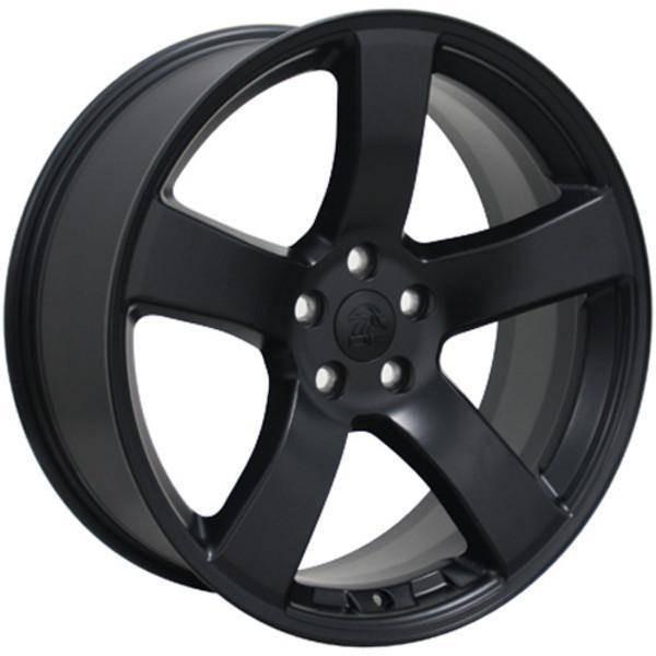 "20"" Dodge Challenger replica wheel 2009-2018 Satin Black rims 9472107"