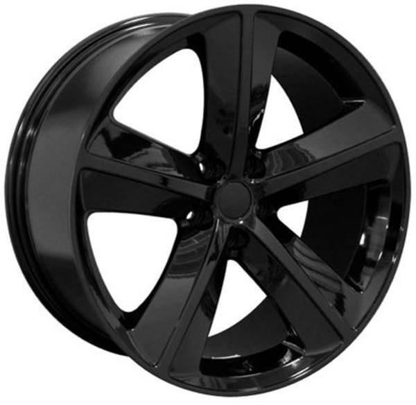 "20"" Dodge Challenger replica wheel 2009-2018 Black rims 6805541"