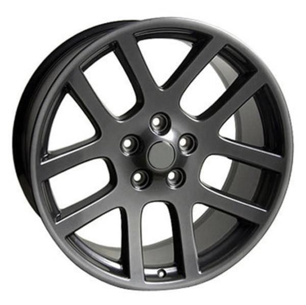 "22"" Dodge Ram 1500 replica wheel 2011-2018 Gunmetal rims 5910251"
