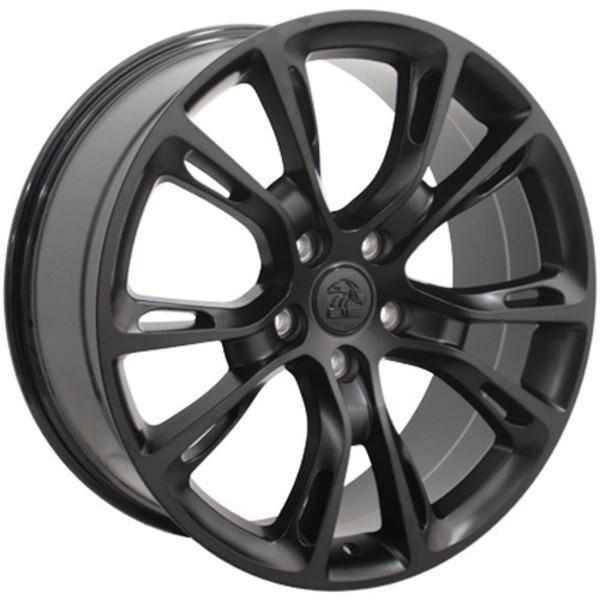 "20"" Dodge Durango replica wheel 2011-2018 Satin Black rims 9469794"