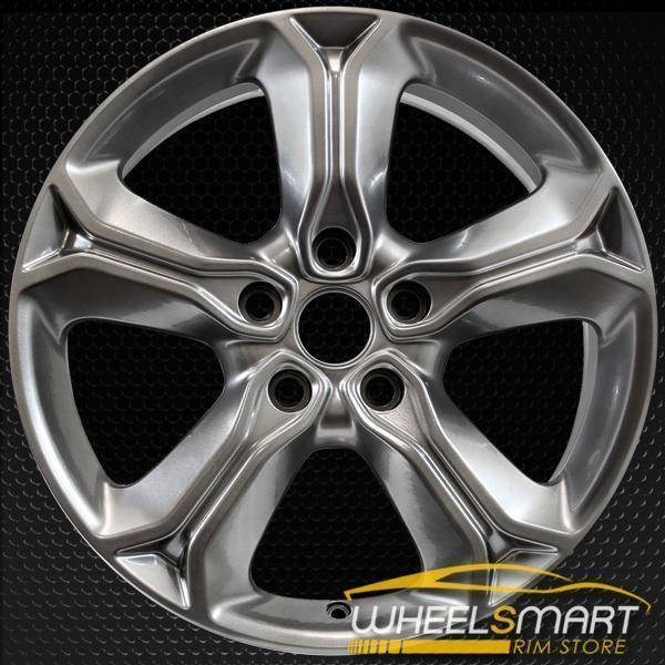 "19"" Dodge Journey oem wheel 2015-2018 Hyper silver alloy stock rim 2519"