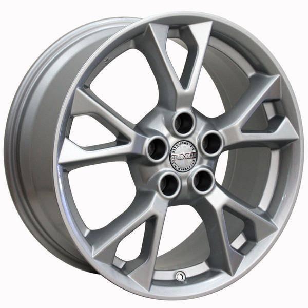 """18"""" Nissan Altima replica wheel 2002-2018 Silver rims 9472171"""